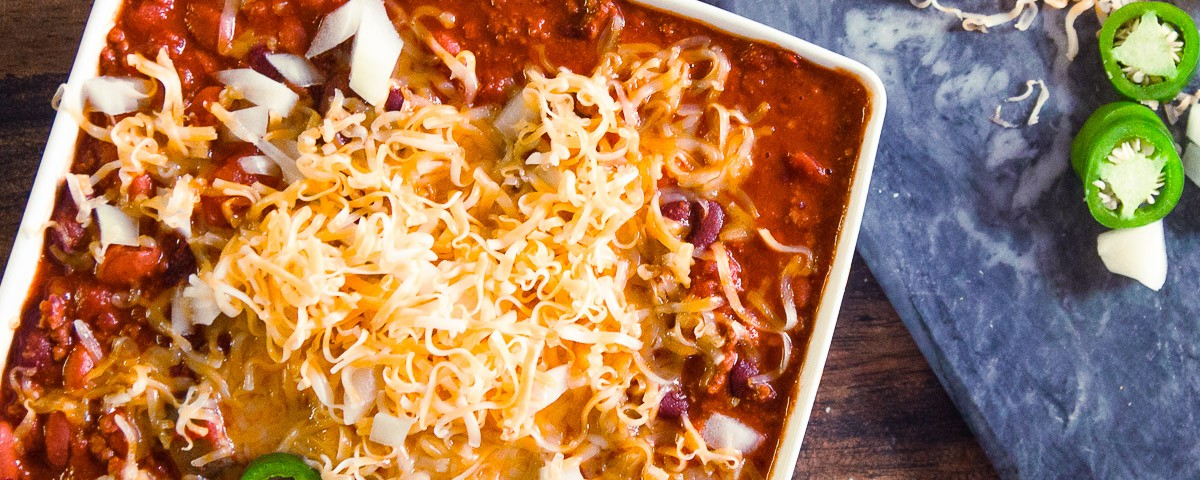 not going to lie. This Spicy Crock Pot Chili IS AMAZING!