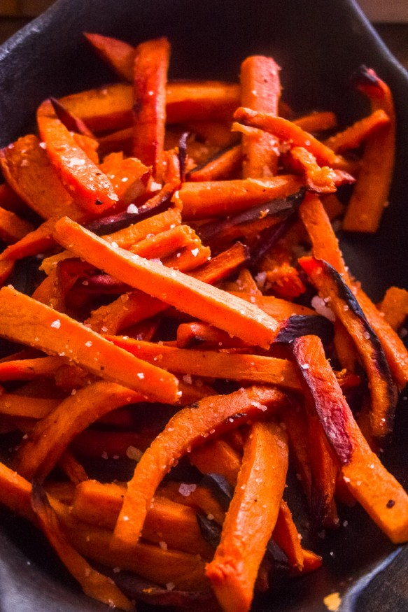 Simple Sweet Potato Fries On The Grill