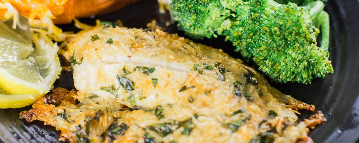 Sauteed Tilapia With Parmesan Crust Recipe — Dishmaps