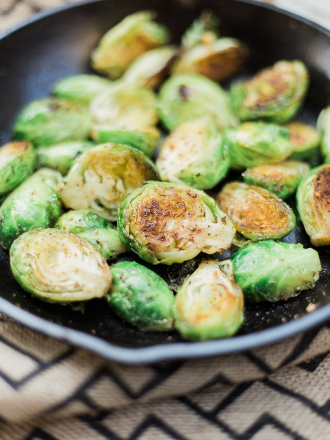 Grilled Brussel Sprouts - Dad With A Pan