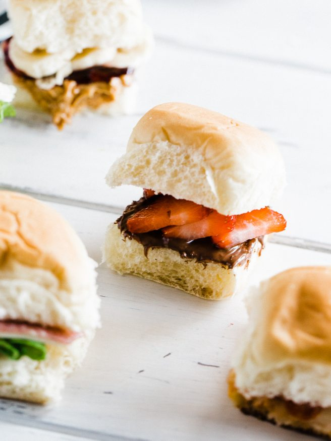 5 Kid Friendly Sandwich Sliders that are super easy, fun and delicious. Warning: you may eat these sandwich sliders before your children do!