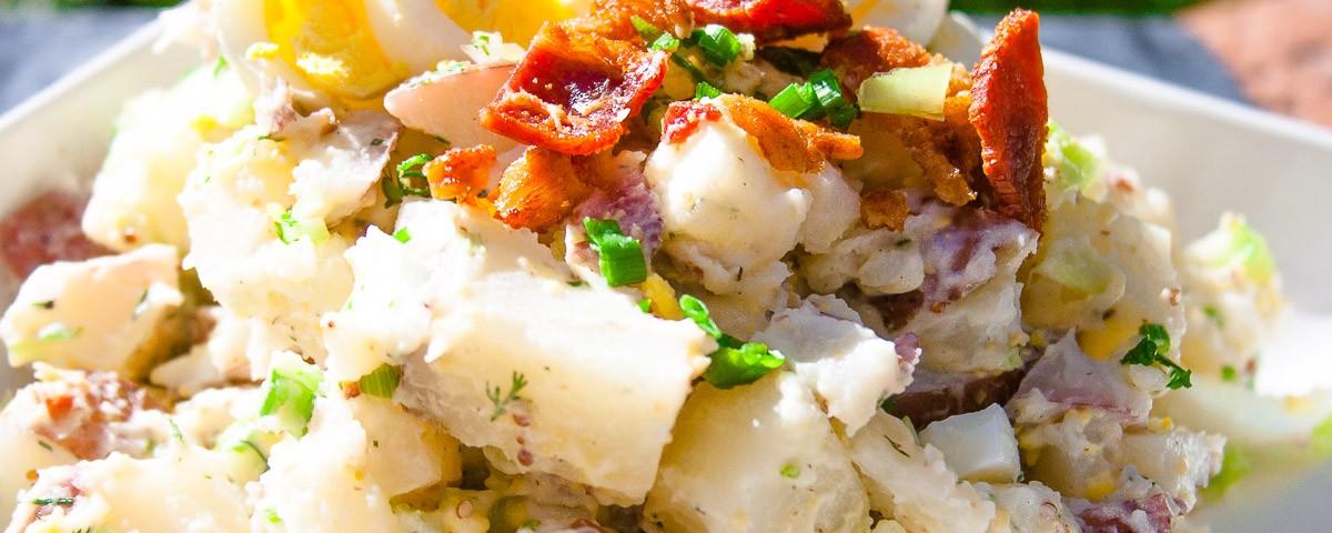 Potato Salad With Dijon Mustard And Bacon