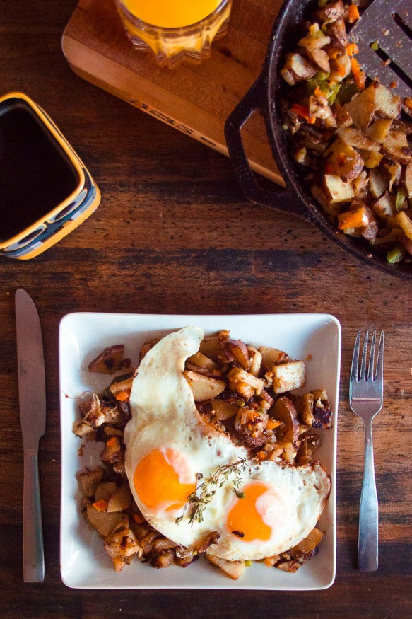 Rustic Country Style #Breakfast #Potatoes
