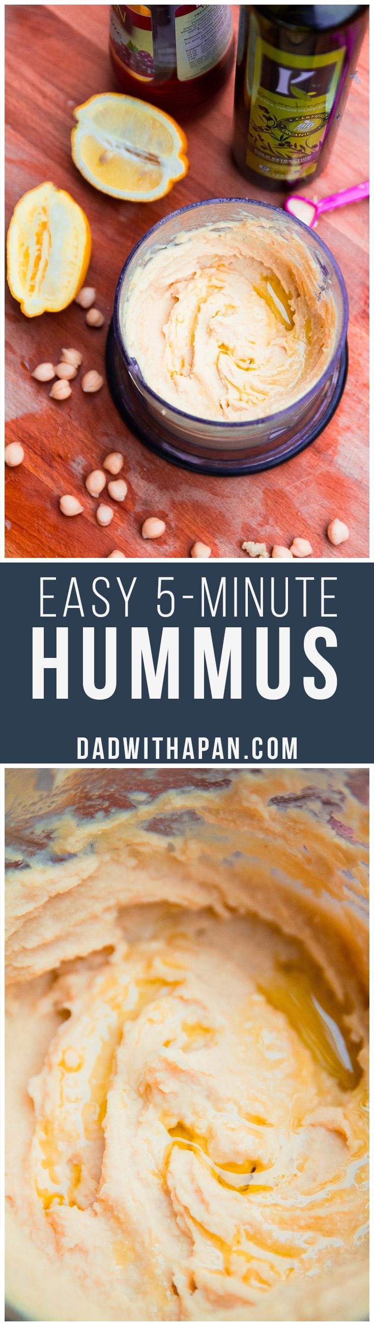 Easy 5-Minute Hummus