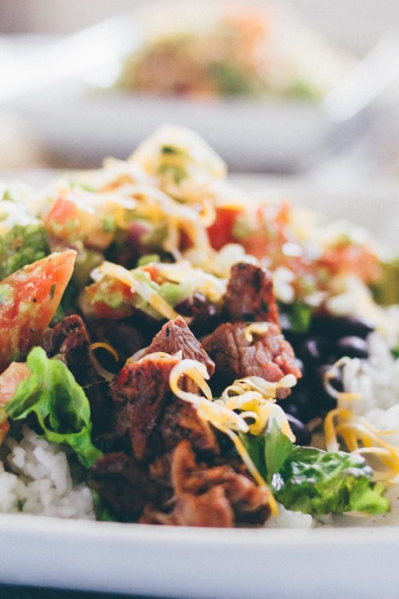 Carne Asada Burrito Bowl