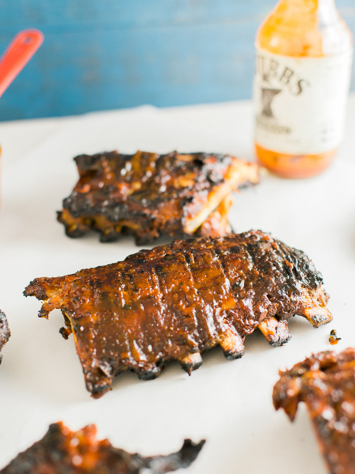 Hot barbecue sauce recipe for ribs