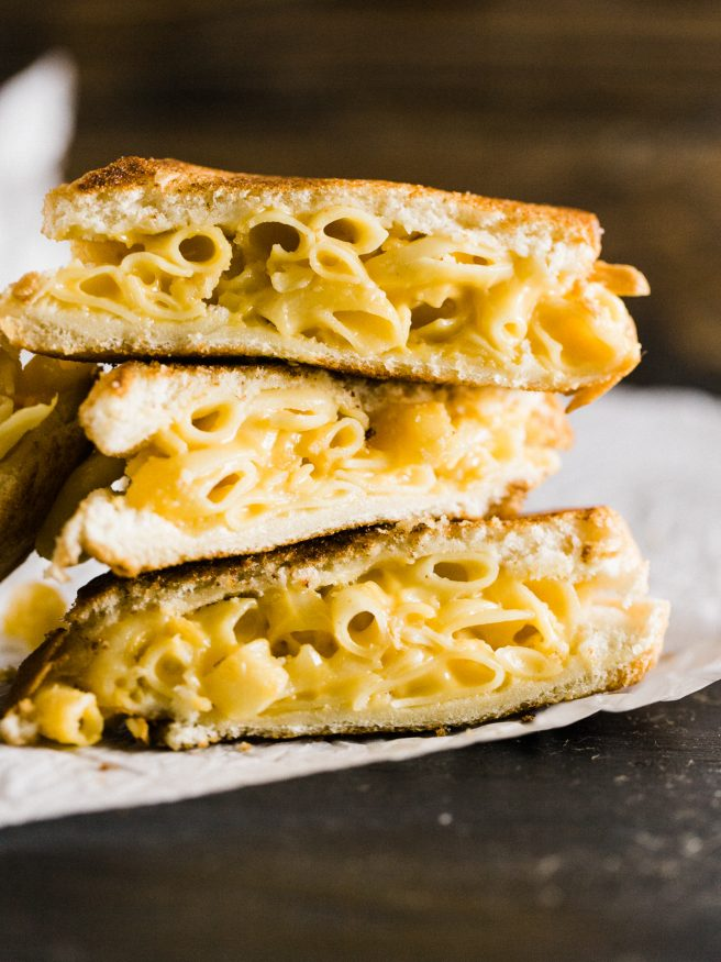 Grilled Mac and Cheese Sandwich   Dad With A Pan