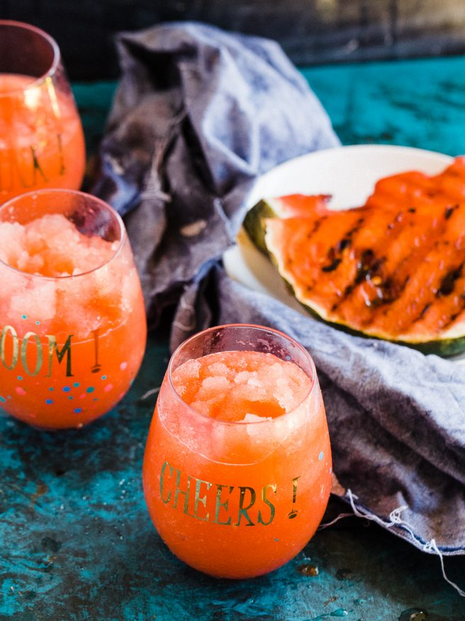 Grilled Watermelon Daiquiri Mocktail - Dad With A Pan
