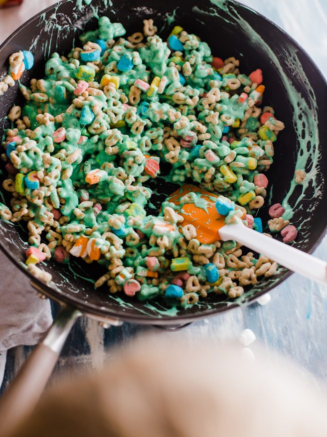 how to make lucky charms marshmallows treats