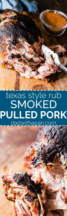 Smoked Pulled Porked cooked low and slow over apple and hickory pellets. Coated with a pepper based central Texas style rub that makes for a one of a kind pulled pork that everyone will love!