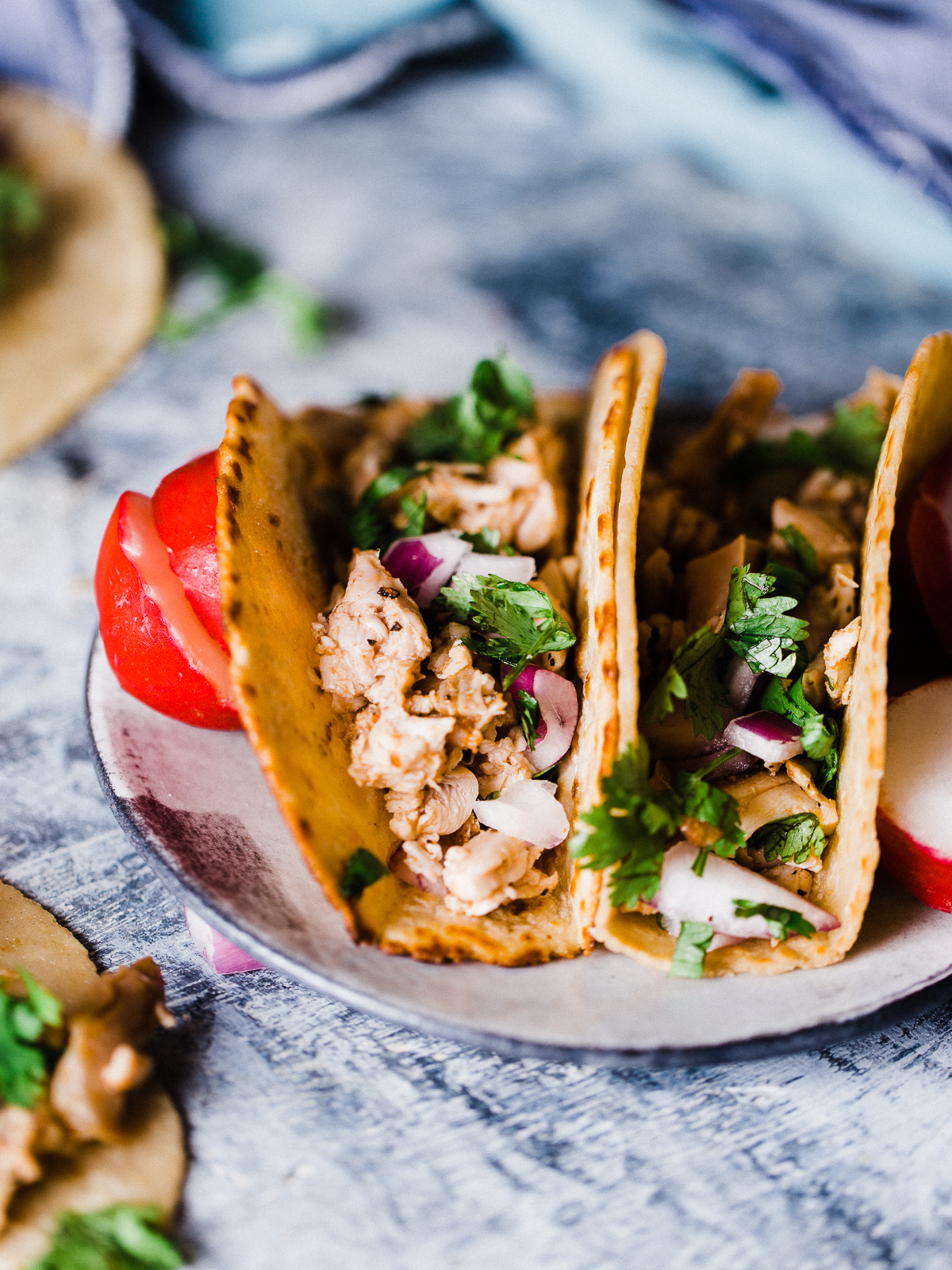 Smoked Chicken Tacos Dad With A Pan