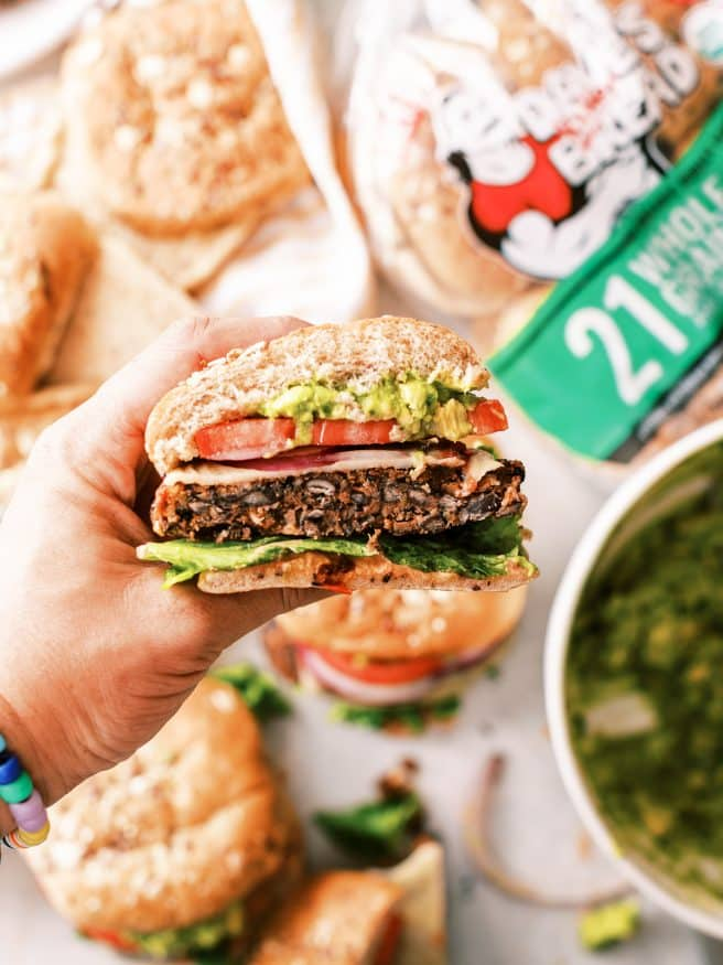 Black Bean Burgers are a great way to change up burger night, especially when you have vegetarian fans.