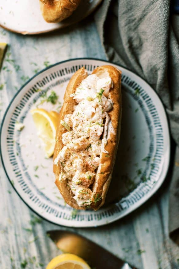 Don't let lobster prices get you down. These buttery shrimp rolls are so dang good, you'll forget that a lobster roll even exists!