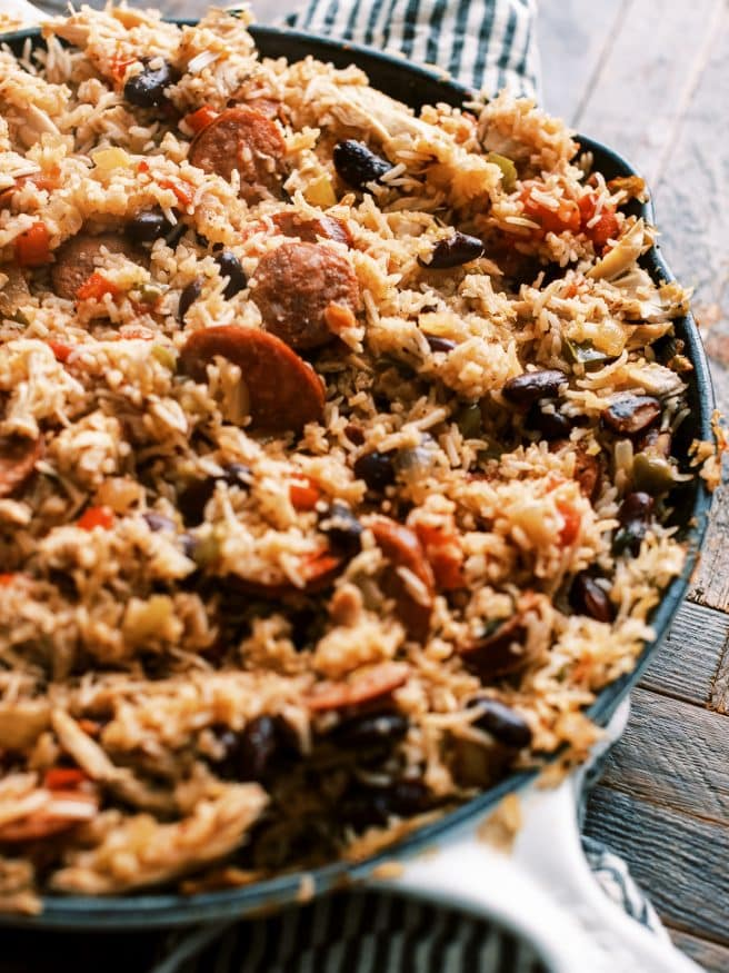 I am a sucker for Red Bean Jambalaya. Add some leftover turkey, and you have got the perfect way to reimagine some Thanksgiving leftovers!